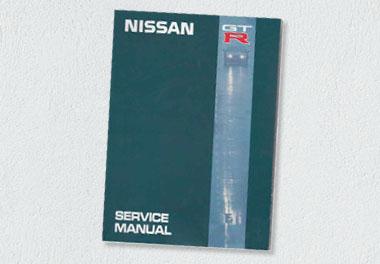 Nissan R32 Skyline GTR Service Manual