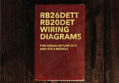 RB26DETT RB20DET AWD R32 Skyline GTR GTS4 Wiring Diagrams